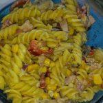 pastasalade met warm weer