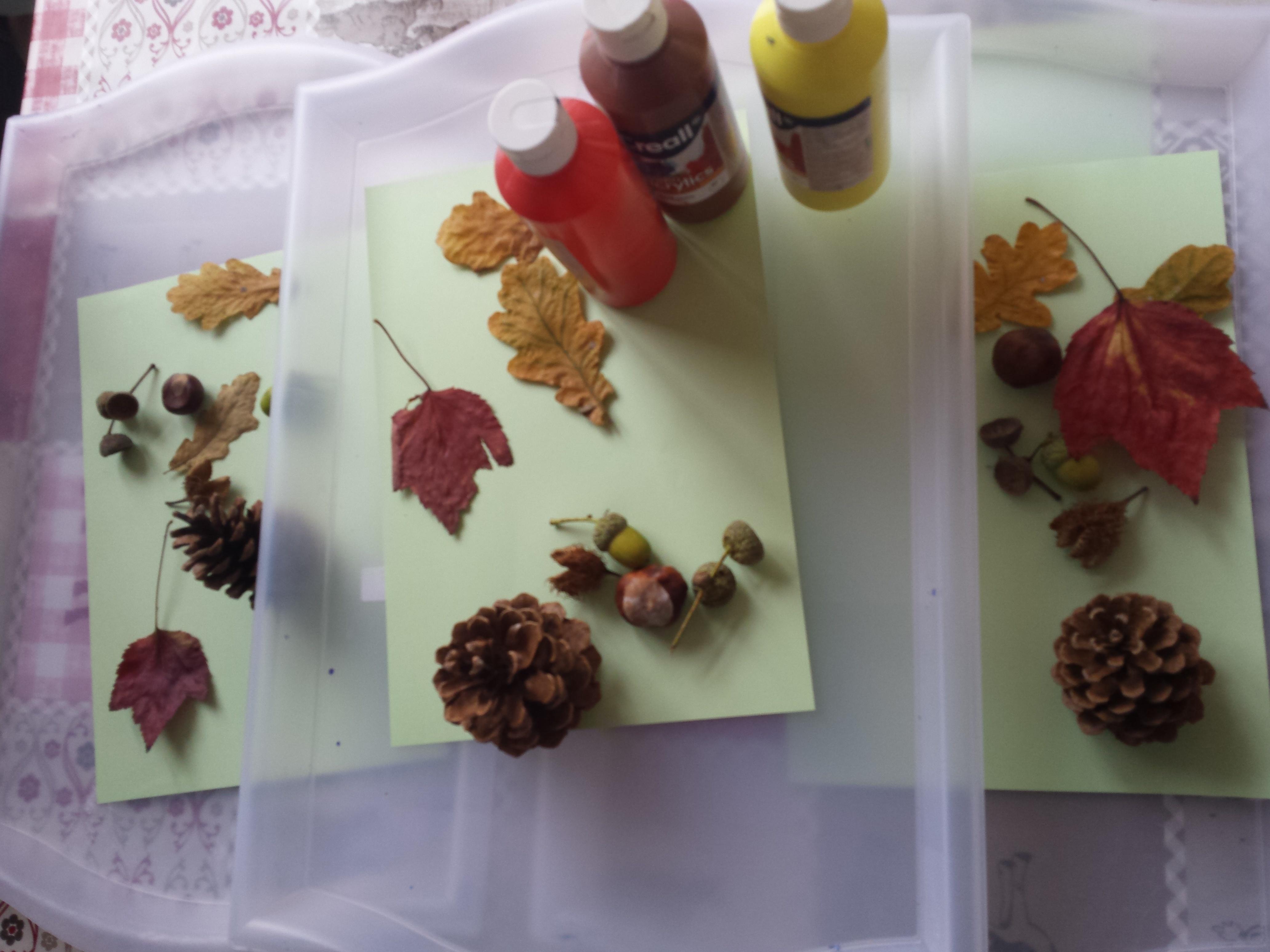 Zeer DIY herfstknutsel baby en peuter &PM94