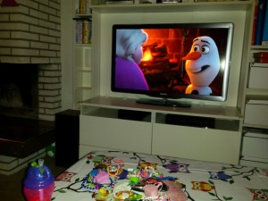 tv al vriend