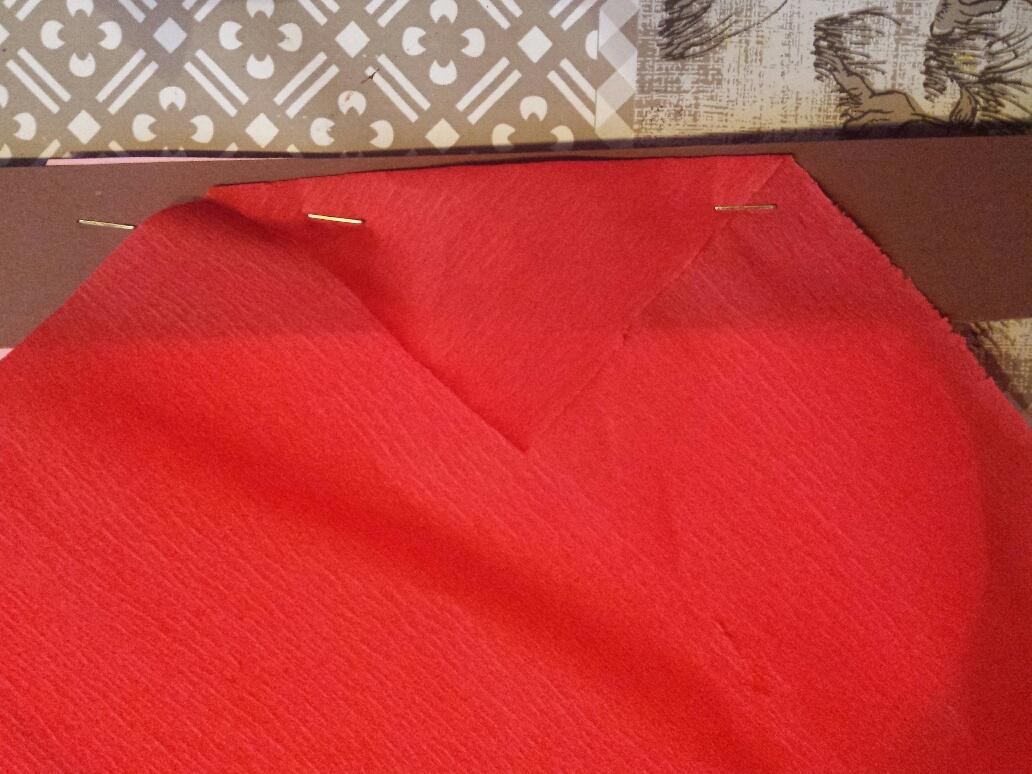 rood crepepapier