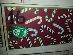 houten adventkalender