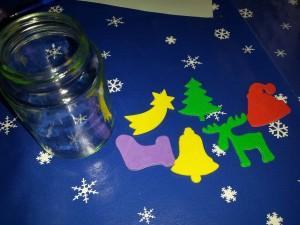 kerstlichtje DIY peuter