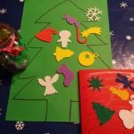 DIY kerstknutsel Foamsticker