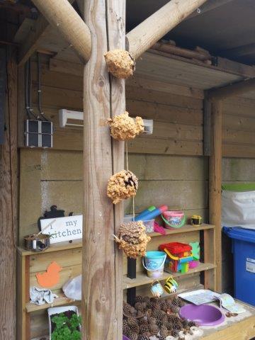 DIY vogelvoer peuters