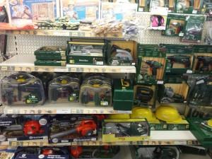 gereedschapspeelgoed van de riet speelgoedwinkel