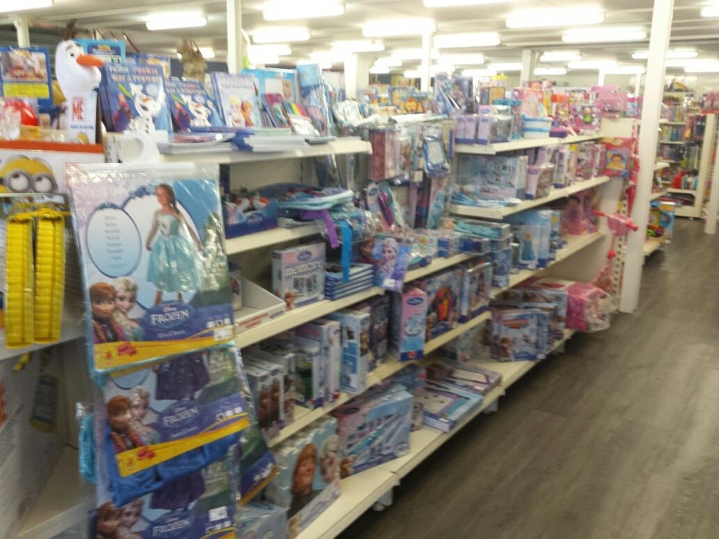 frozen collectie van de riet speelgoedwinkel