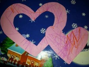 valentijn raamhanger