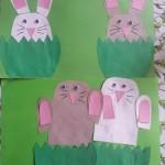 kinderliedje in een groen groen knollenland