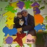 DIY vader kadotip fotolijstje