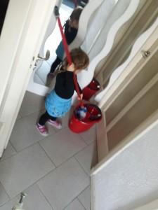 schoonmaken voor peuters
