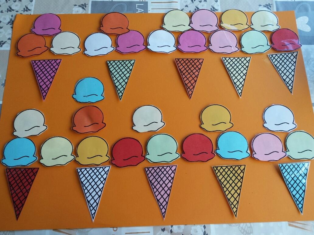 DIY ijsjes knutselen