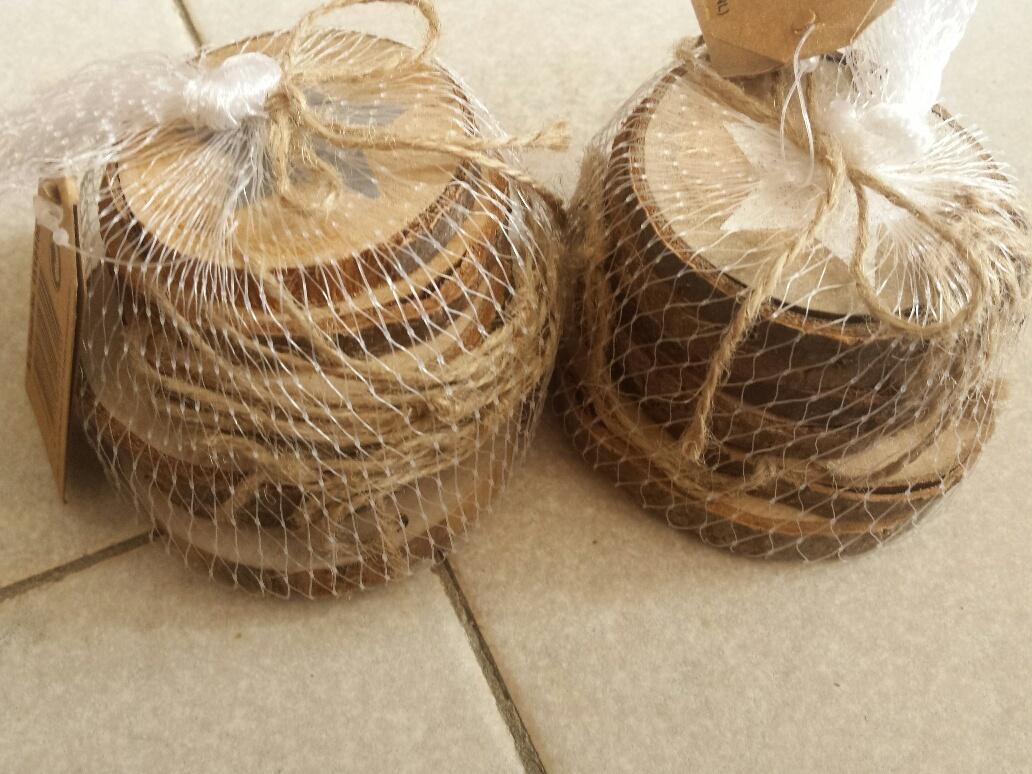 Shoplog action sinterklaas en herfst knutselspullen en for Houten schijven decoratie