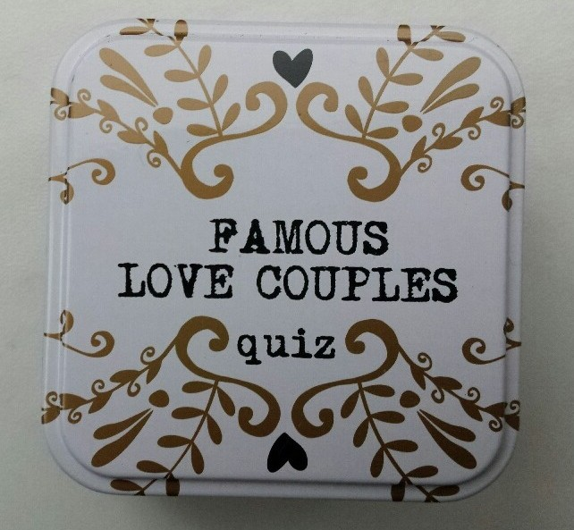 Valentijn quiz kaarten