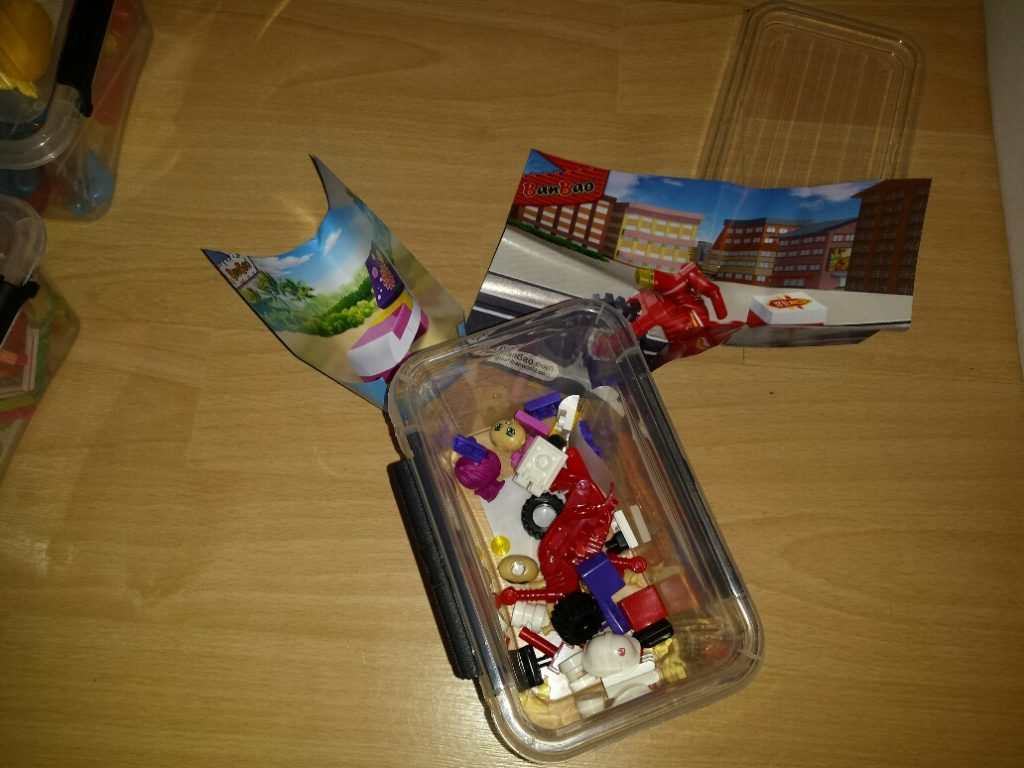 constructie 10 minuten dozen lego werkjes