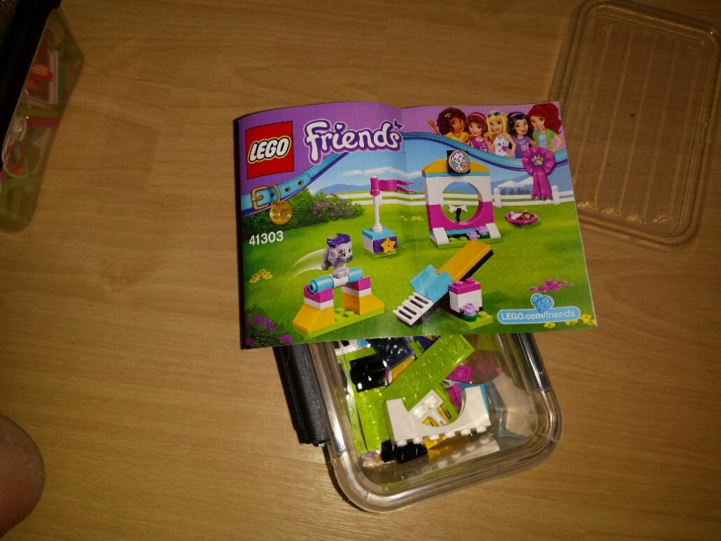 constructie 10 minuten dozen lego friends