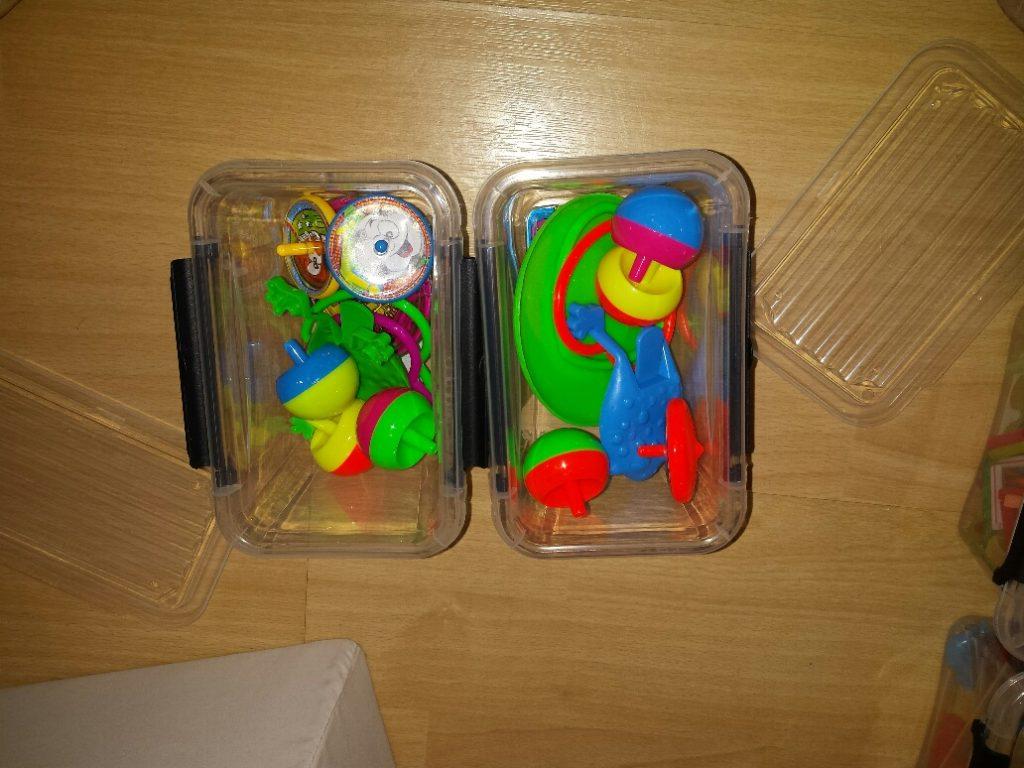 spelletjes en tollen in 10 minuten dozen