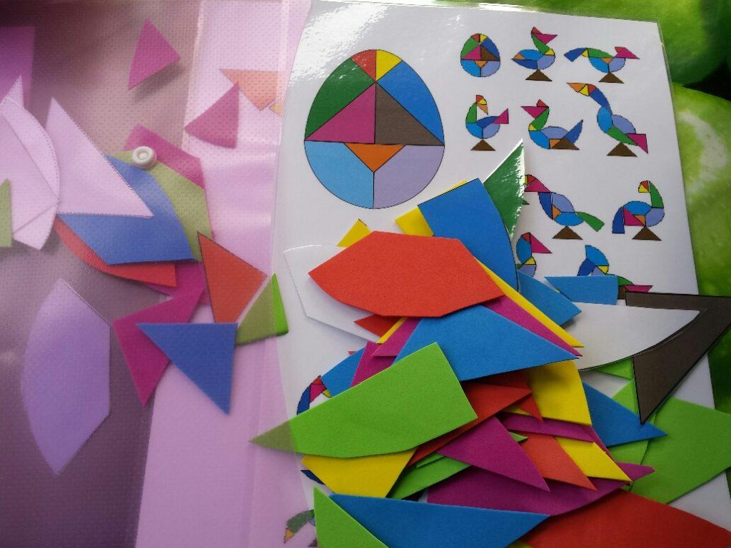 figuren leggen 10 minuten dozen tangram