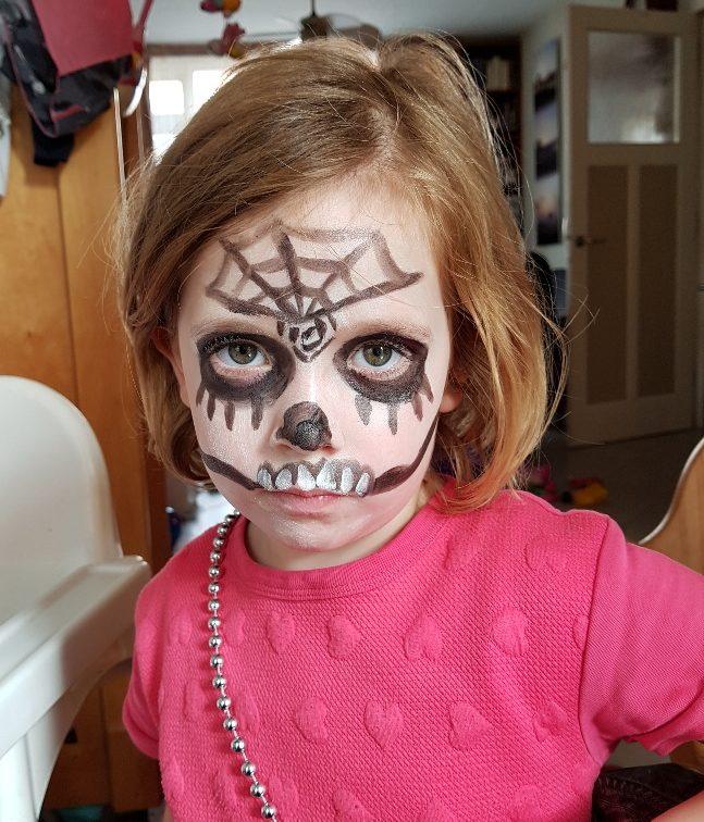voorbereiding voor Halloween