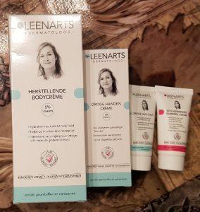 huidverzorgingsproducten van Drs Leenarts