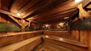 alleen naar de sauna Elysium