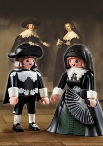 Playmobil Rembrandt poppen