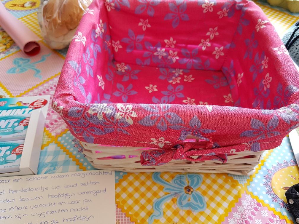Voorkeur DIY Anti Kater pakket cadeau voor bruid en/of bruidegom @XB36