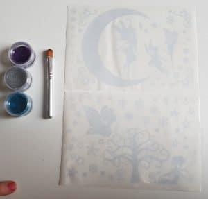 Glitza glittertattoos star fairy pakket