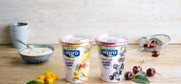 Alpro met meer fruit