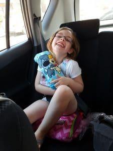 Bubble Bum opblaasbare autostoel