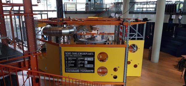 ontdekkingsreis bij Nemo Science Museum