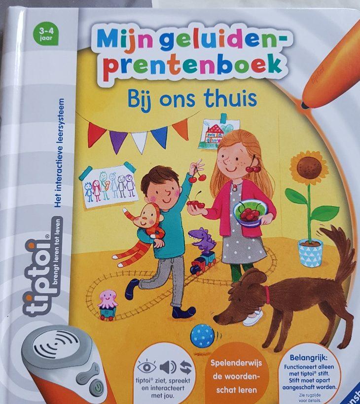 TipToi prentenboek Bij ons thuis voor peuters