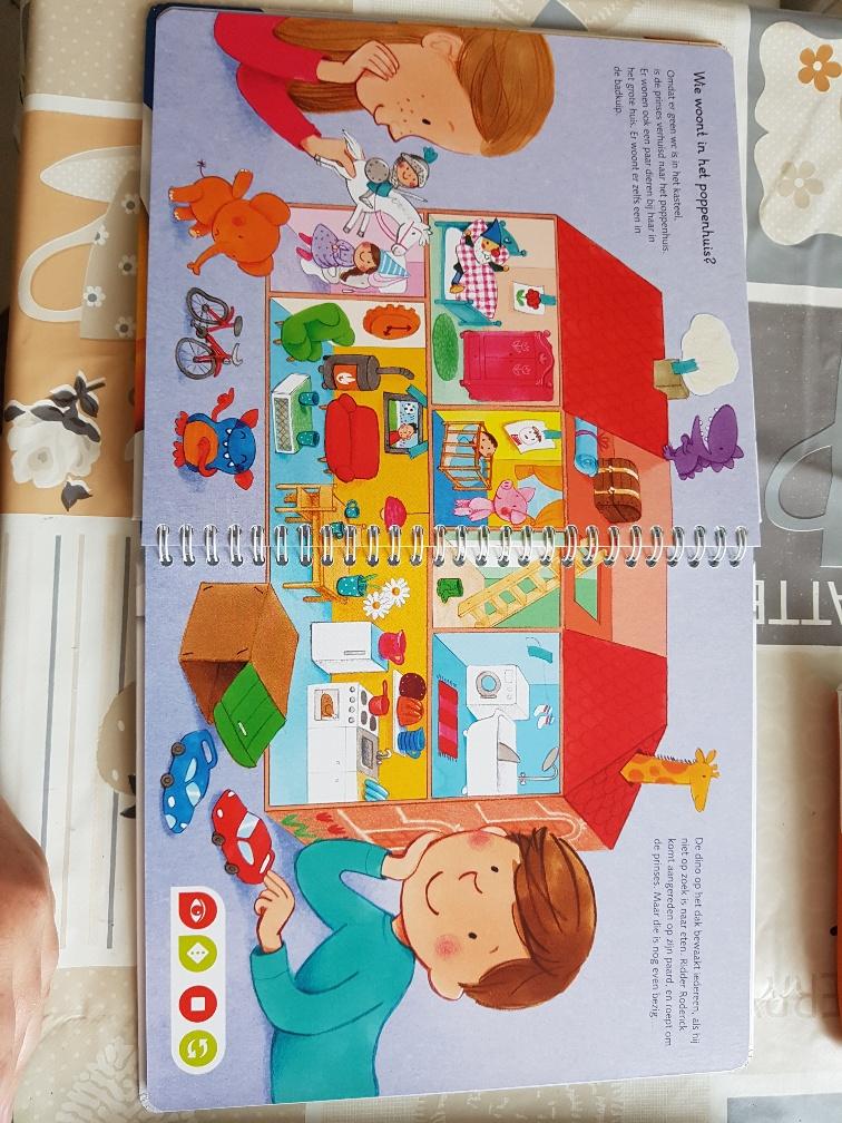 Tiptoi mijn geluiden prentenboek voor peuters for Poppenhuis voor peuters