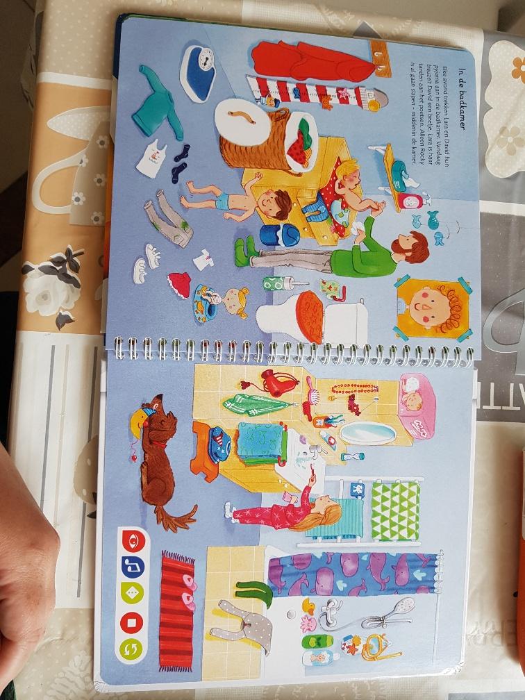 Tiptoi mijn geluiden prentenboek voor peuters mama scrapelle for Poppenhuis voor peuters