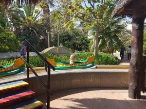 Port Aventura Park in Halloween sfeer