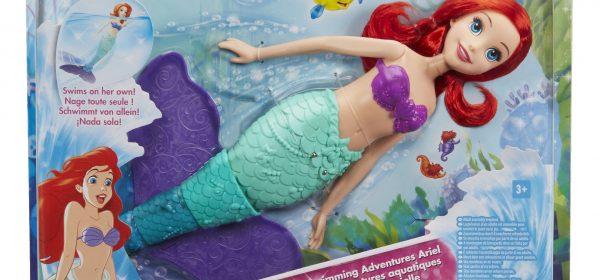 zwemmende prinses Ariël