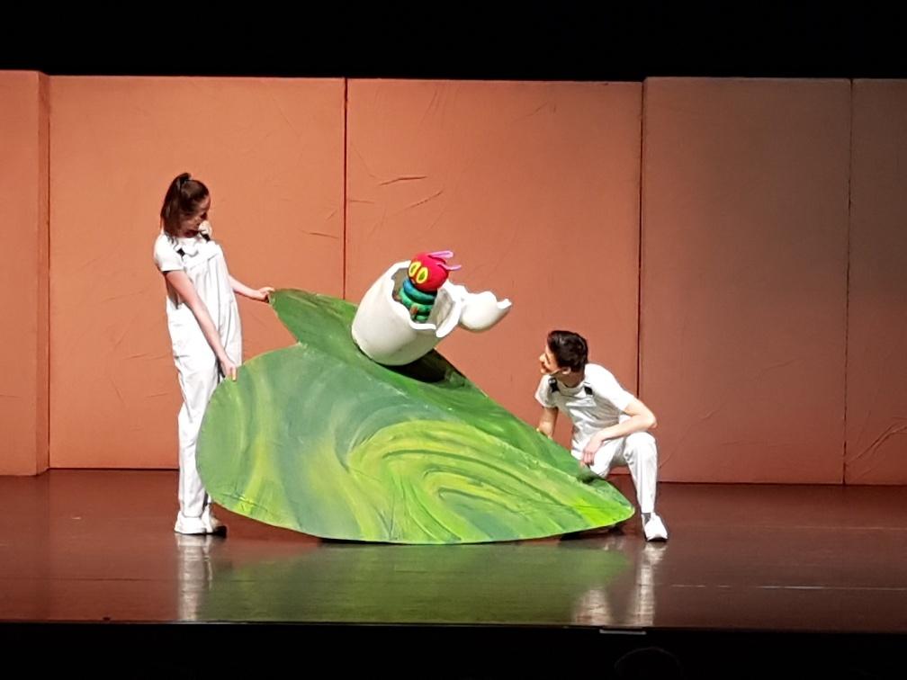 theatervoorstelling rupsje nooitgenoeg