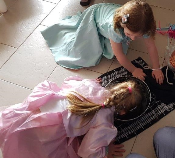 DIY prinsessenfeest
