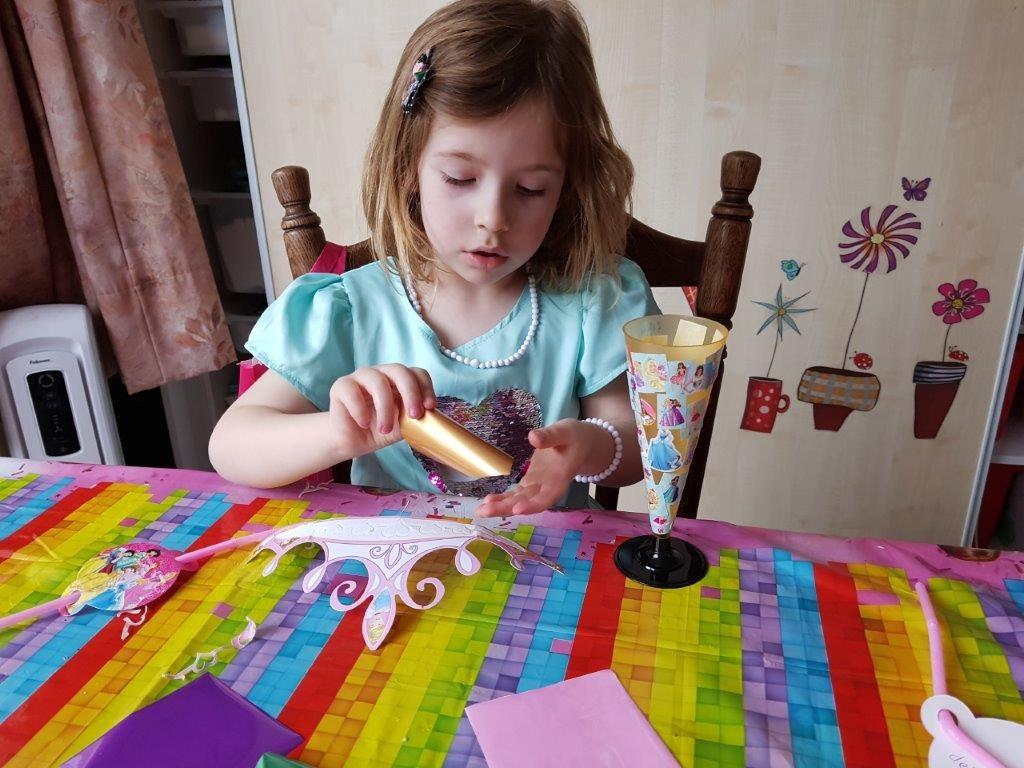 DIY prinsessenfeest