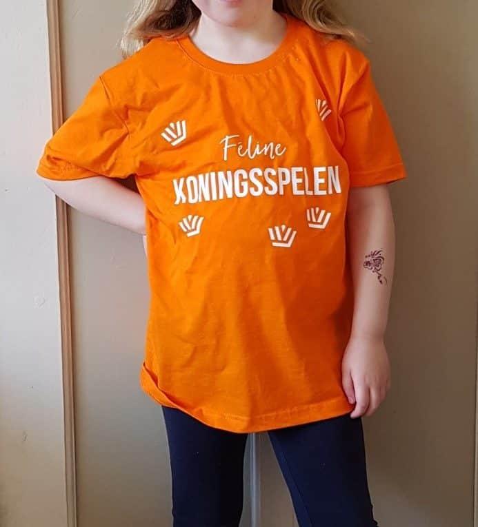 oranje outfit voor de koningsspelen
