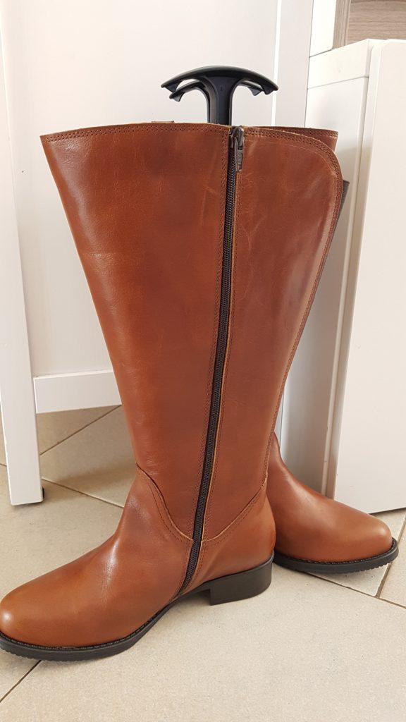Wonderbaar Laarzen met brede schacht voor vrouwen met dikke kuiten GH-91