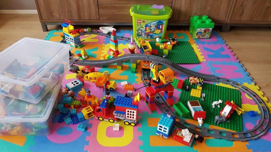 opbergmand voor speelgoed