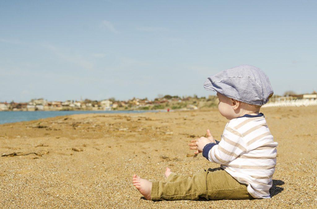 baby zon strand