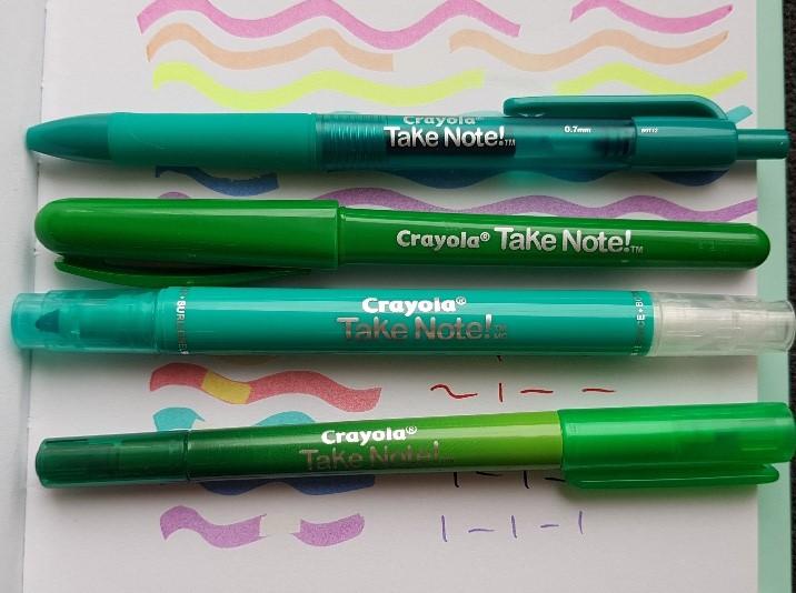 Take Note pennen en stiften