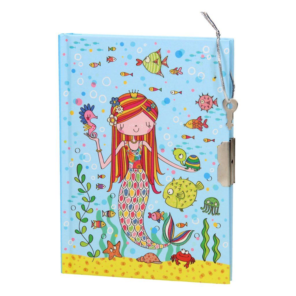 zeemeermindagboek voor Zeemeermin kinderfeestje