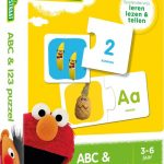 Sesamstraat ABC & 123 puzzel