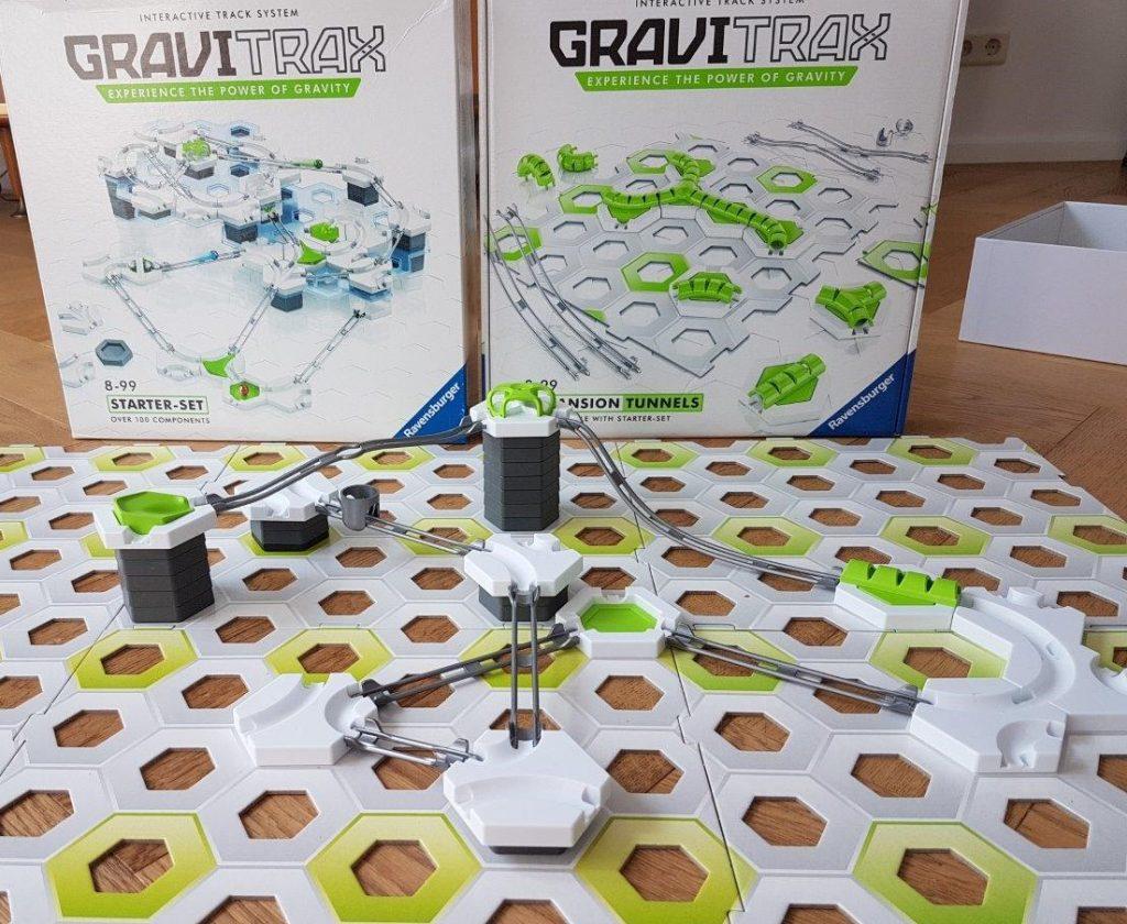 Gravitrax uitbreiding tunnel