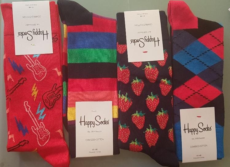 Happy met Happy Socks