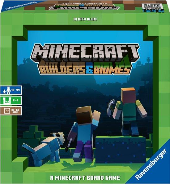 bordspel Minecraft Ravensburger 2-4 spelers 8-99 jaar strategisch spel
