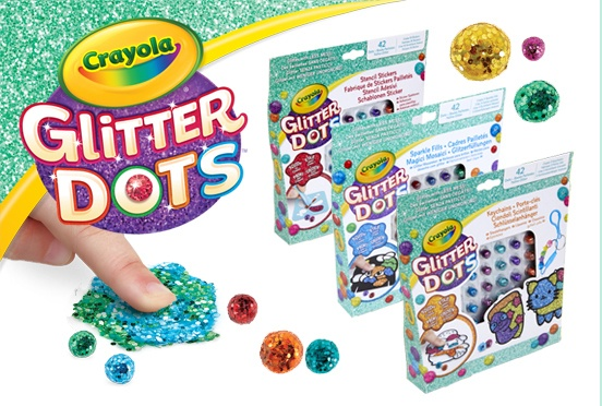 Glitter Dots van Crayola