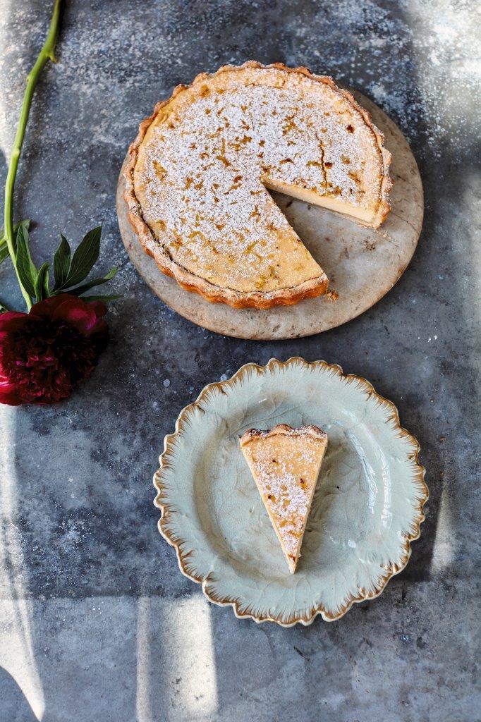 Amalfi-citroentaart Jamie Oliver